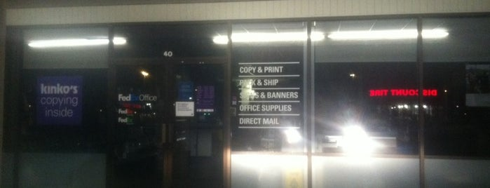 FedEx Office Print & Ship Center is one of West Texas: Midland to El Paso.