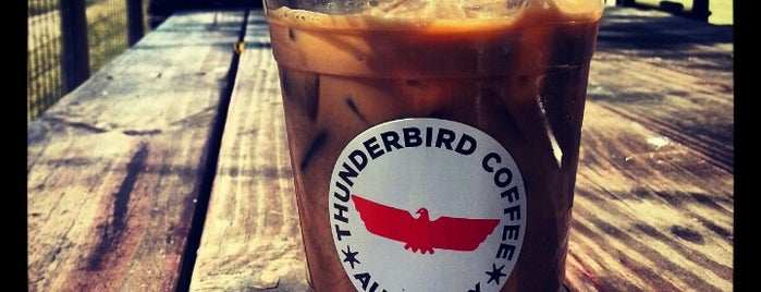 Thunderbird Coffee is one of Beans, Brews, and Buzz.