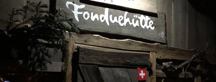 Schwarze Heidi Fondue Hütte is one of Berlin.