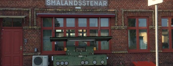 Smålandsstenar Station is one of Tågstationer - Sverige.