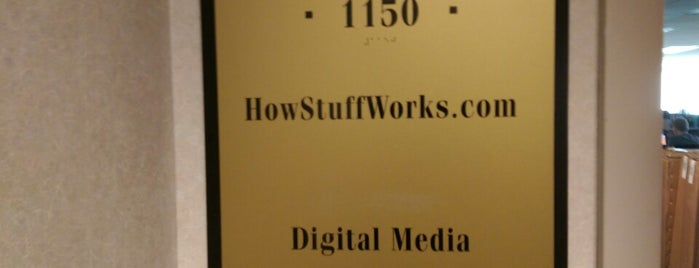 Discovery - Digital Media (HowStuffWorks, TLC, Discovery, Animal Planet) is one of Podcast Studios.