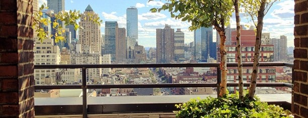 Sky Terrace at Hudson Hotel is one of Manhattan Essentials.