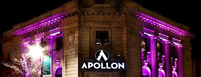 Apollon is one of Best Terrasses in Montreal.