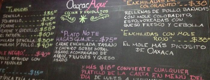 Oaxaca Aquí is one of 50 lugares para comer rico (por menos de $150).