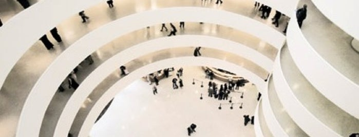 Solomon R Guggenheim Museum is one of NY.