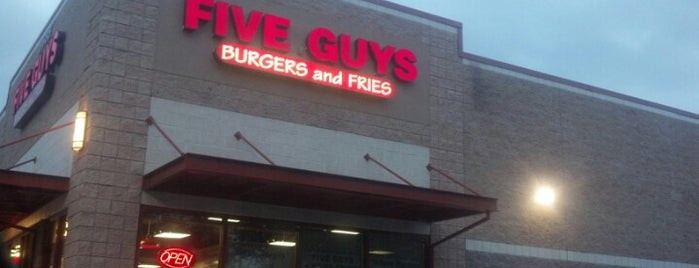 Five Guys is one of Clearwater.