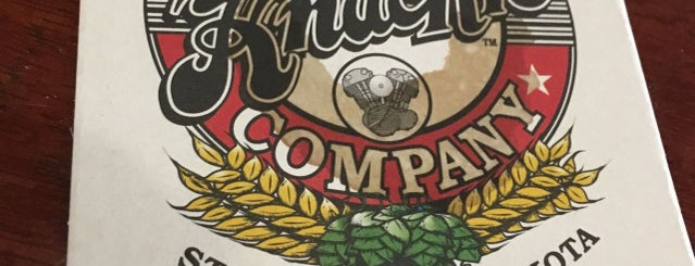 The Knuckle Brewing Company is one of Rapid City, SD.