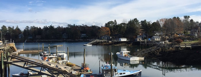 Robinson's Wharf is one of Maine & New Hampshire.