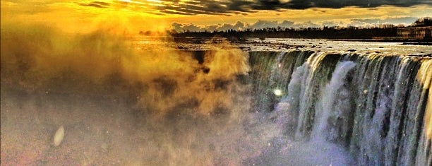 Niagara Falls (Canadian Side) is one of Our Buffalo Trip.