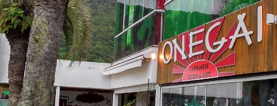 Onegai Japanese Food & Art is one of Japoneses • Florianópolis.