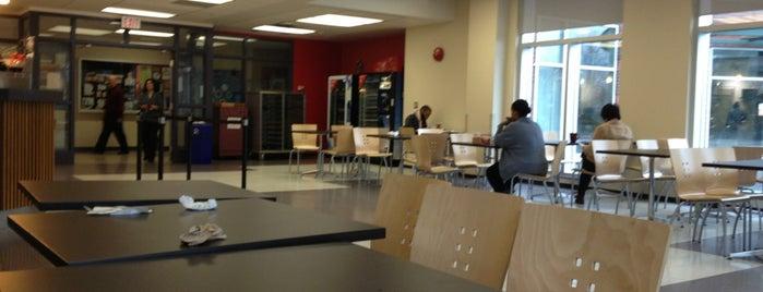Kwantlen Cafeteria is one of Schools.