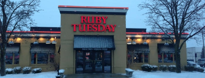 Ruby Tuesday is one of Fort Wayne Food.