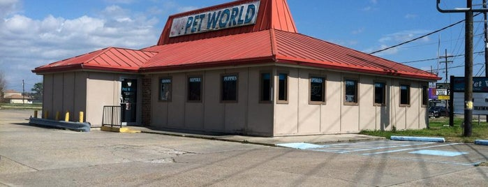 Dawn's Pet World is one of Used to Be a Pizza Hut.