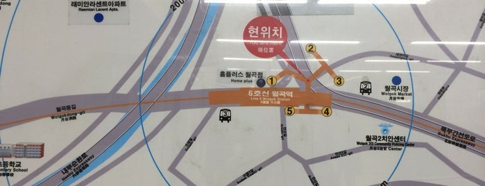 Wolgok Stn. is one of Subway Stations in Seoul(line5~9).