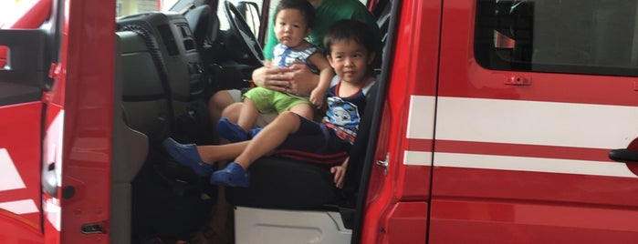 Clementi Fire Station is one of A.