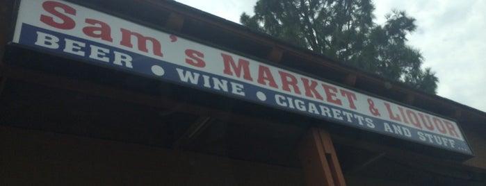 Sam's Market & Liquor is one of Retailers.