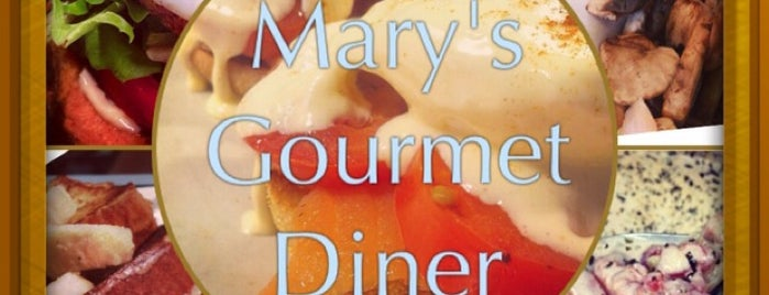 Mary's Gourmet Diner is one of Fav spots.