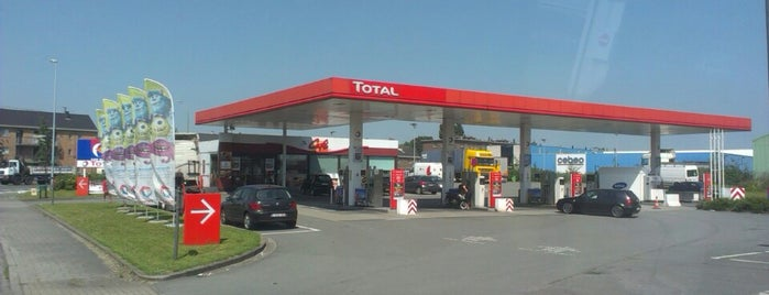 Total is one of Gasoline stations at Belgium.