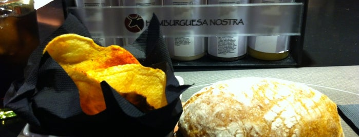 Hamburguesa Nostra is one of Madrid comida resacosa.