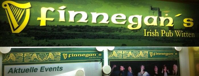 Finnegan's Irish Pub is one of Buddy Bars.