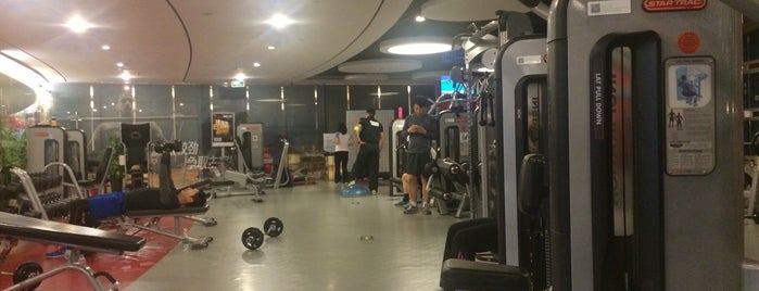 Powerhouse Gym is one of Healthy Beijing.