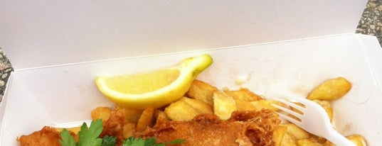 Stein's Fish And Chips is one of UK To-do List.