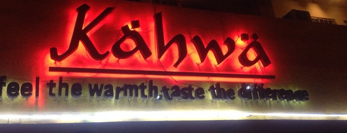 Kahwa (Kähwä) Cafe is one of Hookah Places.
