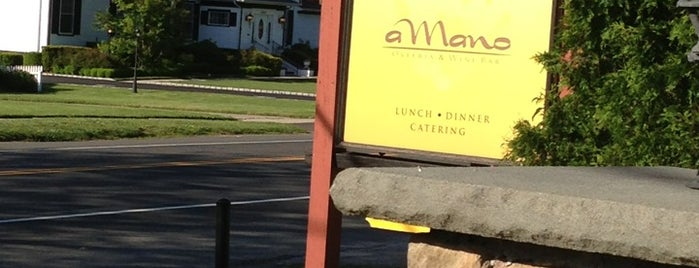 A Mano Restaurant is one of North Fork.
