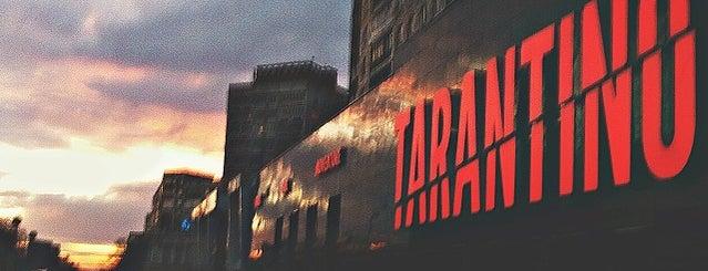 TARANTINO is one of Бары рестораны ночная жизнь.