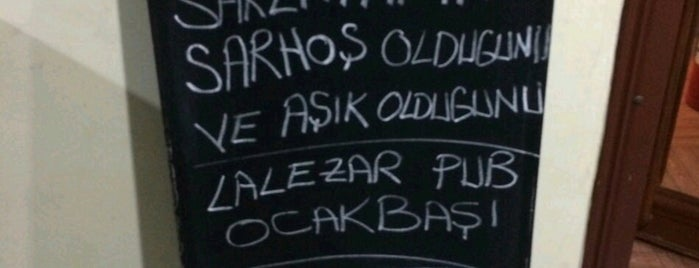 Lalezar Pub is one of Adana Gece Hayatı Turgut Özal Mado Yakını.