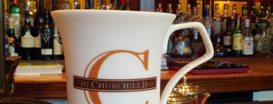 The Churchill Bar is one of Restaurants in Guangzhou.