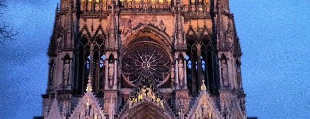 Our Lady of Reims is one of UNESCO World Heritage Sites.