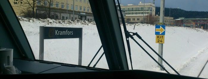 Kramfors Station is one of Tågstationer - Sverige.
