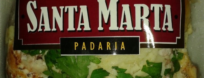 Padaria Santa Marta is one of Lugares bons para tortas.