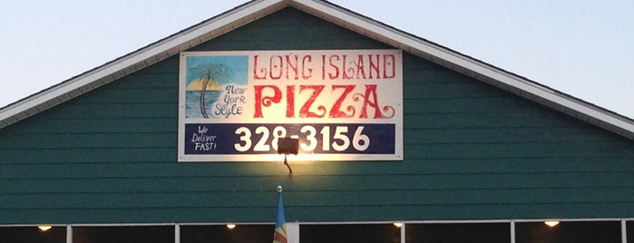 Long Island Pizza Topsail Nc