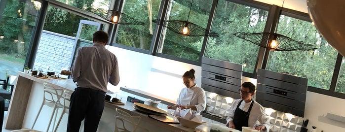 L'amandier is one of Les jeunes Chefs gastronomiques qui montent.