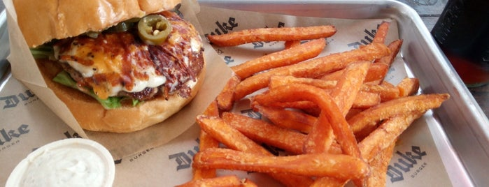 Duke Burger is one of Burger!.