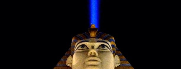 Luxor Hotel & Casino is one of How The West Was Won.