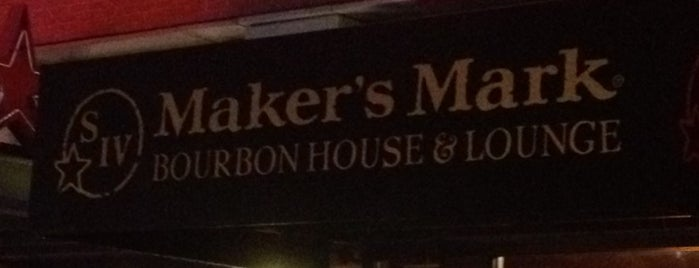 Makers Mark Bourbon House is one of Urban Bourbon Trail.