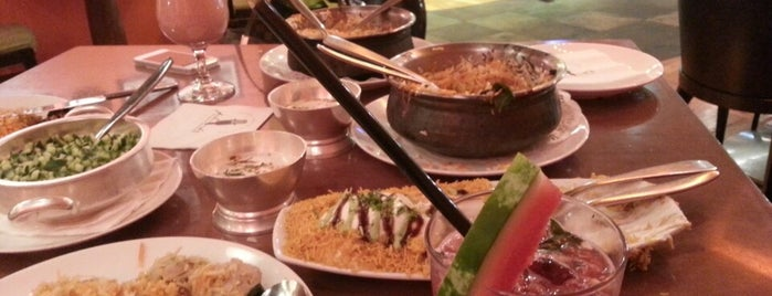 Asha's is one of best resturants in Qatar.