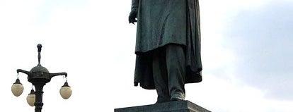 Памятник Н. В. Гоголю is one of Закладки IZI.travel.