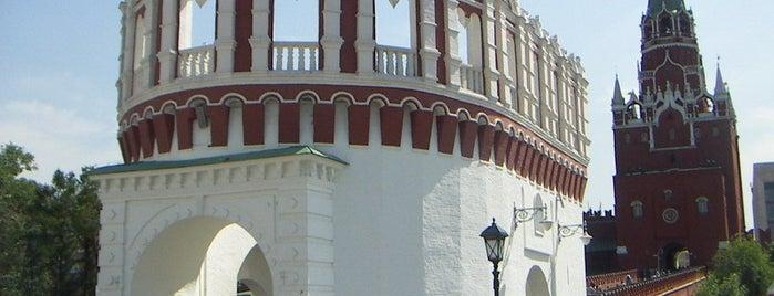 Кутафья башня is one of Закладки IZI.travel.