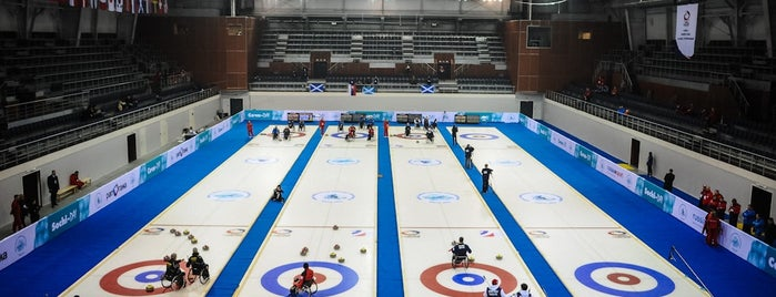 Ice Cube Curling Center is one of Закладки IZI.travel.