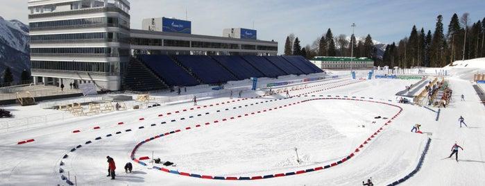 Лыжно-биатлонный комплекс «Лаура» is one of Закладки IZI.travel.