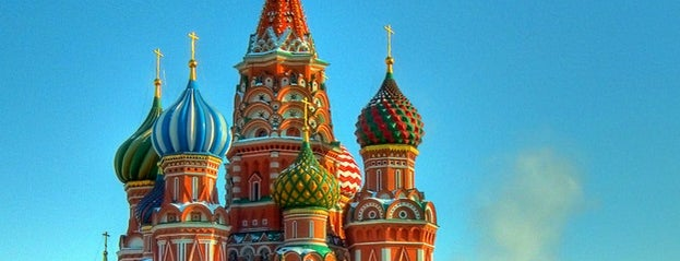 St. Basil's Cathedral is one of Закладки IZI.travel.