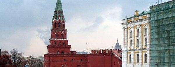 Боровицкая башня is one of Закладки IZI.travel.