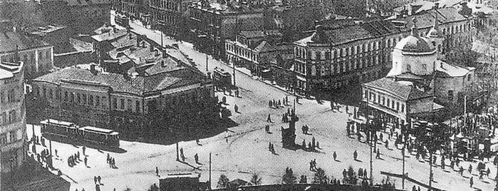 Площадь Пречистенские Ворота is one of Закладки IZI.travel.