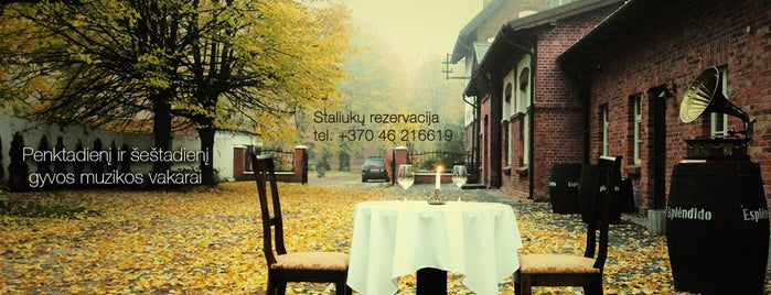 Restaurant XIX amžius is one of All-time favorites in Lithuania.