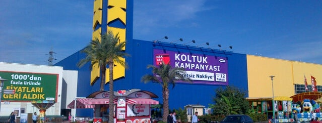 IKEA is one of Veni Vidi Vici İzmir 1.