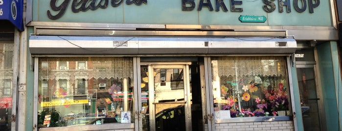 Glaser's Bake Shop is one of NYC Manhattan East 65th St+.